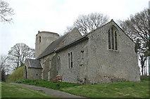TF8417 : St Nicholas, West Lexham, Norfolk by John Salmon