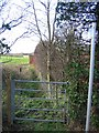 SJ4562 : Bridleway from the A41 to Saighton by John S Turner