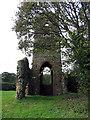 TG0433 : St Mary, Burgh Parva, Norfolk - Ruin by John Salmon