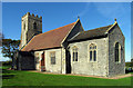 TG1238 : All Saints, Bodham, Norfolk by John Salmon