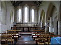 TF8442 : St Clement, Burnham Overy Town, Norfolk - Chancel by John Salmon