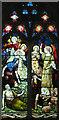 TF8036 : All Saints, Stanhoe, Norfolk - Window by John Salmon