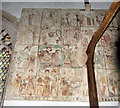 TF8411 : St Mary, Sporle, Norfolk - Wall painting by John Salmon