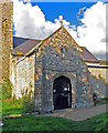TG3823 : St Michael, Sutton, Norfolk - Porch by John Salmon