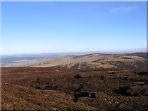 NN9334 : Peat-hags on Meall nan Caorach by Andrew Spenceley