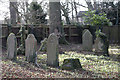 TL6458 : Graves invaded by ivy, Stetchworth, Cambridgeshire by Martin John Bishop