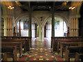 SU9069 : The Most Holy Trinity, Ascot Priory, Berks - Narthex by John Salmon