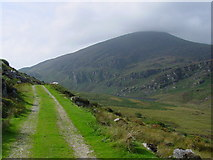W1486 : The track leading south to The Paps by Colin Park
