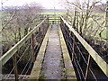 SD4580 : Footbridge and Stile by Michael Graham