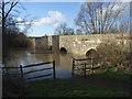 SP7233 : Thornborough Bridge by Andrew Smith