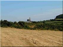SW6931 : East Wheal Lovell Engine house by Robert W Handley-Fairbairn