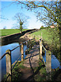SJ6047 : Footbridge over the River Weaver by Espresso Addict