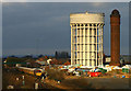 SE7423 : Goole Water Towers by Martin Loader