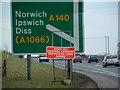 TG2103 : Avian Influenza ( Bird Flu ) Sign by Keith Evans