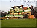 SJ3885 : Liverpool Cricket Club Pavilion, Aigburth, L19 by Nigel Cox