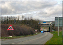 SS9780 : M4 Bridge by kenneth rees