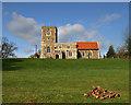SP8827 : All Saints Church  Soulbury by Richard Thomas
