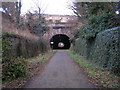NT2576 : East Trinity Road Tunnel by Sandy Gemmill