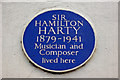 Photo of Hamilton Harty blue plaque