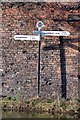 SO9298 : Horseley Fields Canal Junction Signpost by Phil Clayton