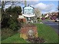 TM1083 : Shelfanger Village Sign by Ian Robertson