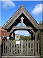 SE8759 : Lych Gate by Stephen Horncastle
