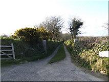 SW7133 : Farm track near Viscar by Jonathan Billinger