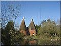 TQ8540 : Standen Oast, Smarden Road, Biddenden, Kent by Oast House Archive