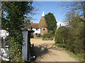 TQ8640 : Monks Hill Oast, Monks Hill, Smarden, Kent by Oast House Archive