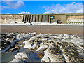 TQ3502 : Cliffs at Ovingdean Beach by Simon Carey