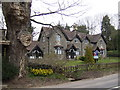 SO4514 : Cottages opposite the entrance to The Hendre by Jonathan Billinger