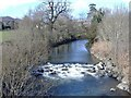 ST1493 : The River Rhymney, at Ystrad Mynach by Roger Cornfoot