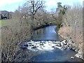 ST1493 : The River Rhymney, at Ystrad Mynach by Roger Cornfoot