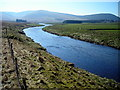 NS9620 : River Clyde Near Crawford by Iain Thompson