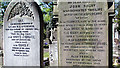 SJ4286 : Eleanor Rigby headstone at St Peter's Church, Church Road, Woolton by Peter Tarleton
