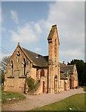 SJ8125 : Gable end view of Christ Church by stephen betteridge