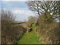 SP7218 : Wooden footbridge near Quainton by Andy Gryce