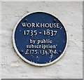 Photo of Workhouse, Horncastle blue plaque
