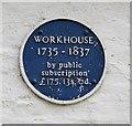 Photo of Workhouse, Horncastle blue plaque