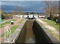 SJ6357 : Cholmondeston Lock on the Shropshire Union Canal by Espresso Addict