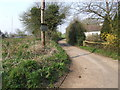 TL9990 : The start of Wash Lane, South End by Ian Robertson