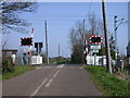 TL5167 : Bannolds AHB level crossing, north of Waterbeach by Keith Edkins