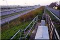 TL1591 : A1(M) junction, Norman Cross by Julian Dowse