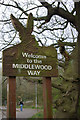 SJ9488 : Welcome to the Middlewood Way by Stephen McKay