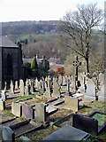 SE0023 : St. John's Church, Cragg Vale by Paul Glazzard