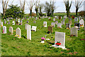SP3825 : Enstone Cemetery by Martin Loader