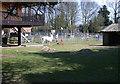 TL3948 : Llama Enclosure, Shepreth Wildlife Park by Keith Edkins