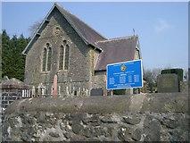 SN8039 : St Mary's Church Cynghordy by David Sharp