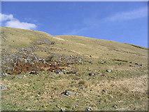 NX7294 : Stony hillside by Walter Baxter