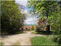 TF9423 : Farm Buildings by David Williams